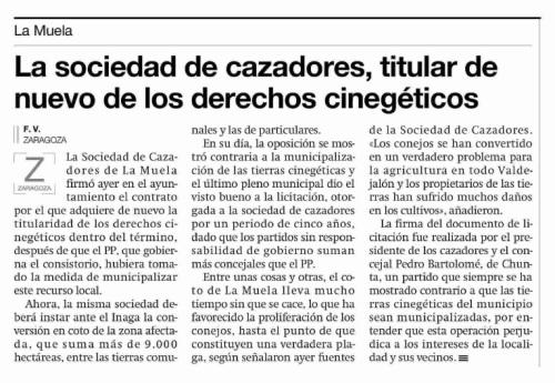 El Periódico de Aragón. 07.03.14