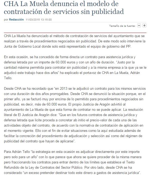 Diario Aragonés (11.03.15)