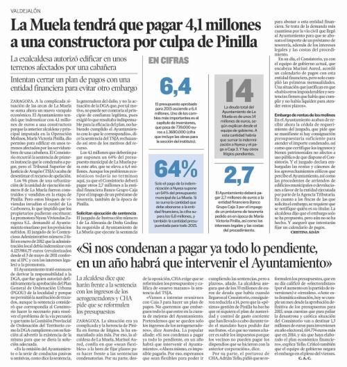 Heraldo de Aragón. 24.03.15