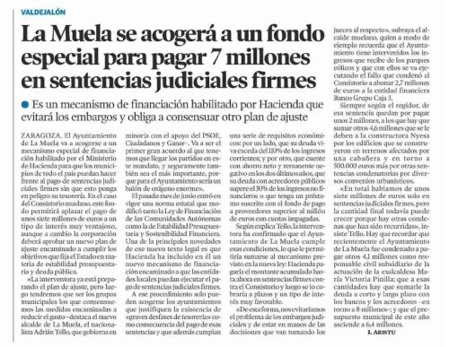 Heraldo de Aragón. 18.07.15